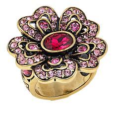"""Heidi Daus """"Garden Glamour"""" Crystal Ring"""