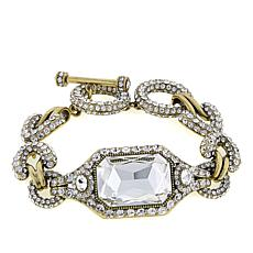 "Heidi Daus ""Graceful Edition"" Crystal-Accented Link Bracelet"