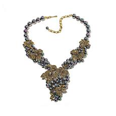 "Heidi Daus ""Intoxicating Elegance"" Beaded Drop Necklace"
