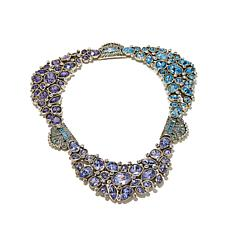"Heidi Daus ""Invitation Only"" Crystal Collar Necklace"