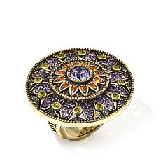 "Heidi Daus ""Kaleidoscope of Color"" Round Ring"