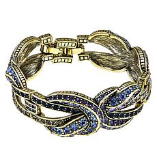 "Heidi Daus ""Knot Now"" Crystal Link Layout Bracelet"