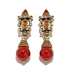 """Heidi Daus """"Lantern"""" Crystal Drop Earrings"""