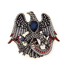 "Heidi Daus ""Liberty and Justice For All"" Crystal Pin"