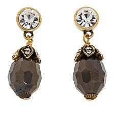 "Heidi Daus ""Live Stream"" Crystal Drop Earrings"
