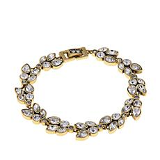 "Heidi Daus ""Marquise Magic"" Crystal Link Bracelet"