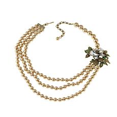 "Heidi Daus ""Marvelous Magnolia"" Multi-Strand Necklace"