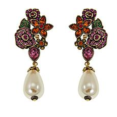 "Heidi Daus ""Oh Deer!"" Crystal Drop Earrings"