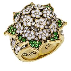 "Heidi Daus ""Penny's Magnificent"" Floral Ring"