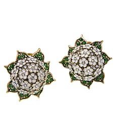 "Heidi Daus ""Penny's Magnificent"" Floral Stud Earrings"