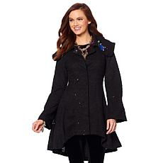 Heidi Daus Practically Perfect Sequined Coat