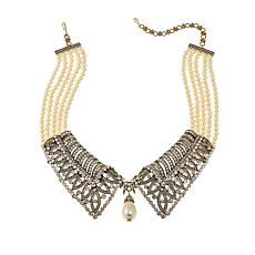 "Heidi Daus ""Prim and Proper"" Collar Drop Necklace"