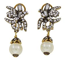 "Heidi Daus ""Princess Lily"" Crystal Drop Earrings"