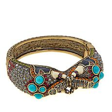 "Heidi Daus ""Queen of Siam"" Enamel and Crystal Bracelet"