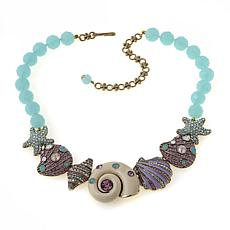 "Heidi Daus ""Queen of the Sea"" Beaded Drop Necklace"