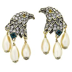 "Heidi Daus ""Regal Eagle"" Crystal Earrings"