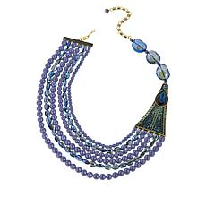 "Heidi Daus ""Savvy Chic"" Multi-Strand Beaded Necklace"