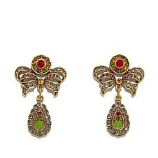"Heidi Daus ""Seductive Fantasy"" Crystal Drop Earrings"