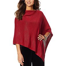 "Heidi Daus ""Signature Style"" Asymmetric Sweater"