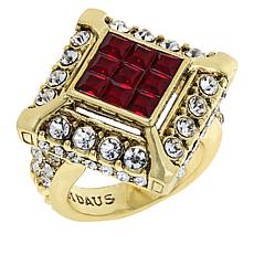 "Heidi Daus ""Spectacular"" Crystal Ring"