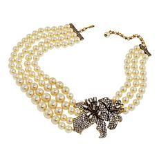 "Heidi Daus ""Star-Gazer"" Multi-Strand Station Necklace"