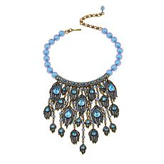 "Heidi Daus ""Strut Your Stuff"" Crystal Bib Drop Necklace"