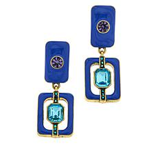 "Heidi Daus ""Thoroughly Modern"" Drop Earrings"