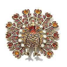 "Heidi Daus ""Tom Turkey"" Crystal Pin"