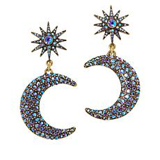 "Heidi Daus ""Twilight Trilogy"" Pavé Drop Earrings"