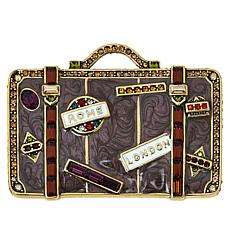"""Heidi Daus """"Well Travelled"""" Crystal-Accented Trunk Pin"""