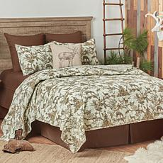 Hemlock Trail Twin Quilt Set
