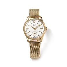Henry London Westminster Goldtone Stainless Steel Watch