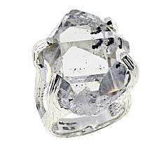 "Herkimer Mines ""Diamond"" Quartz ""Mambo"" Ring"