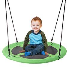 "Hey! Play! 40""Dia. Outdoor Hanging Saucer Swing"