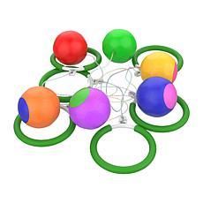 Hey! Play! 6-Piece Indoor/Outdoor Skip Ball Set
