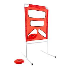 Hey! Play! Outdoor Collapsible Flying Disc Toss Game Set