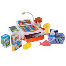 Hey! Play! Pretend Electronic Cash Register w/ Real Sounds Functions