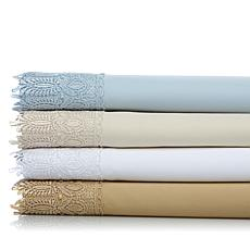 Highgate Manor Estate Lace 100% Cotton Sheet Set - CK