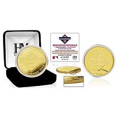 Highland Mint 2019 World Series Champions Gold Mint Coin