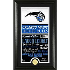 "Highland Mint ""House Rules"" Bronze Coin Photo Mint - Orlando Magic"