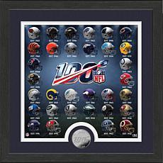 Highland Mint NFL 100 Seasons commemorative Mint Coin Photo Mint