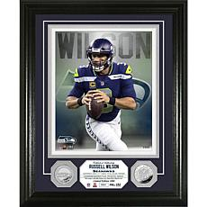 Highland Mint Russell Wilson Silver Coin Vertical Photo Mint