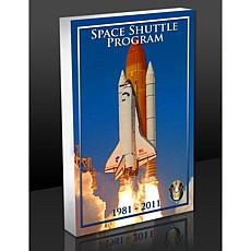 Highland Mint Space Shuttle Program 3-D BlocKart