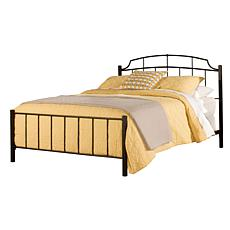 Hillsdale Furniture Sheffield Bed - Textured Black - Queen