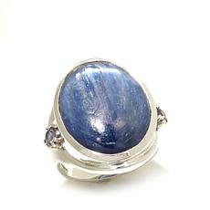 Himalayan Gems™ Blue Kyanite and Iolite Ring
