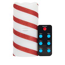 Holiday Candle Projector with Remote Control and Timer
