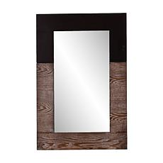 Holly & Martin Wagars Mirror - Burnt Oak/Black