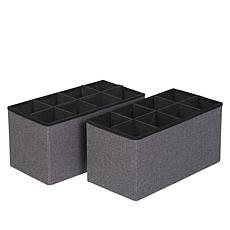 Home36 Collapsible Nonwoven Storage Bins 3-pack