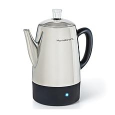 HomeCraft 10-Cup Stainless Steel Coffee Percolator