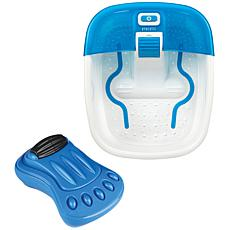 HoMedics Bubble Bliss Deluxe Footspa with Vibration Foot Massager
